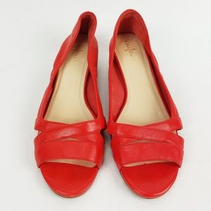 Cole Haan Air Amari Open Toe Wedge Pump